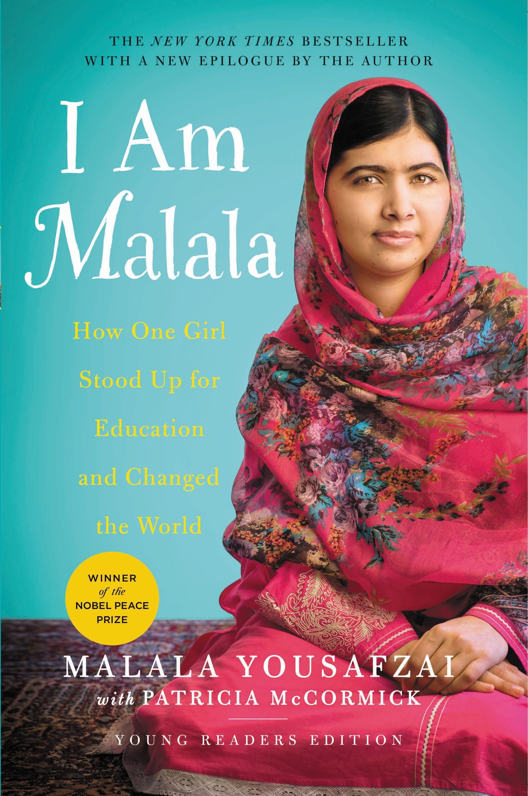 I am Malala:  How One Girl Stood Up for Education and Changed the World – Grades 6 – 9 – Winter 2021 – 10 Weeks