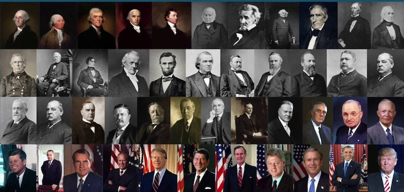 Our American Presidents: The Good, The Bad and the Ugly – Grades 6-9 – Winter and Spring 2021 – 20 Weeks
